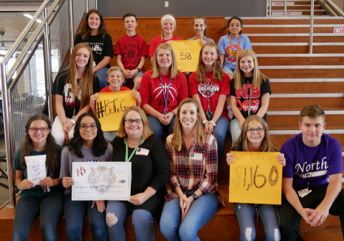 NBMS Raises Funds for Helping Hands Ministry to Fight Hunger