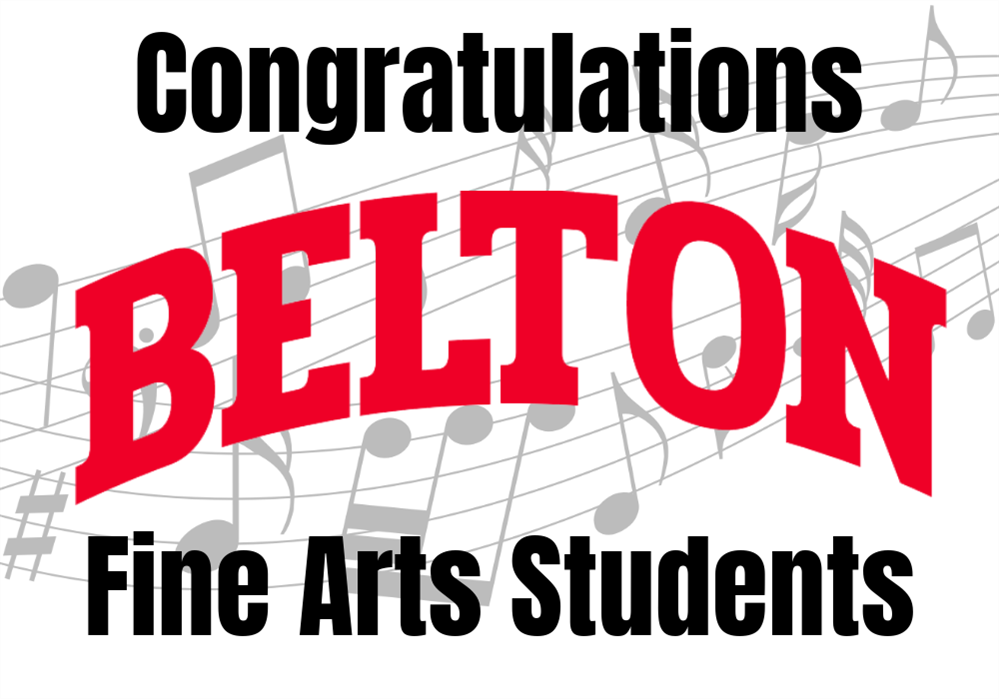 Congratulations Fine Arts Students