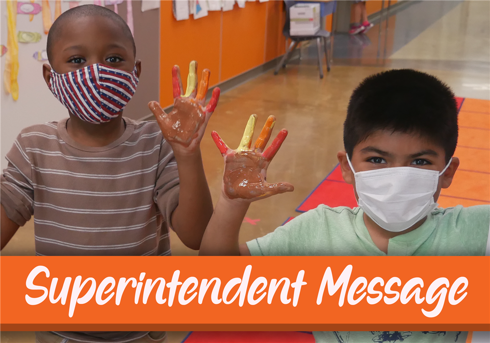 Superintendent Message to Big Red Community