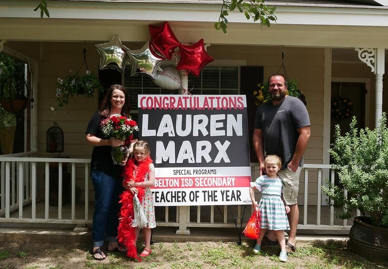 Lauren Marx Secondary Teacher of the Year