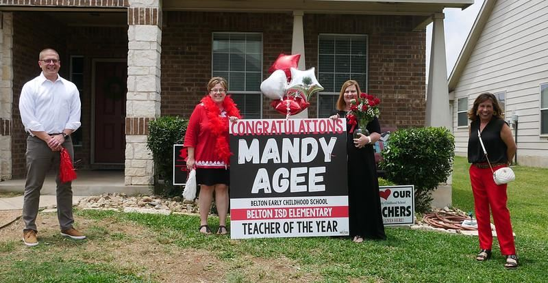 Mandy Agee, Elementary Teacher of the Year